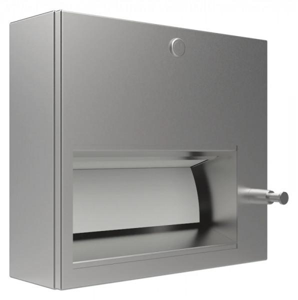 Papierhandtuch/Seifenspender-Kombination 9120204 - Zylinderschloss