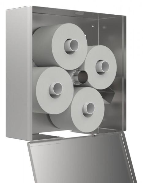 WC Papier-Karussell-Rollenhalter 4-fach 9200204 offen