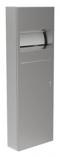 Papierhandtuchspender/Abfallbehälter-Kombination 9124105