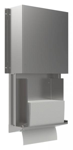 Papierhandtuchspender 9120303 Zylinderschloss - offen
