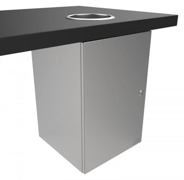 Abfallbehälter 9100205 Einwurf v. oben 300x450x310 mm