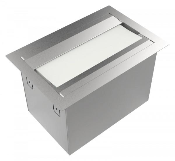 Papierhandtuchspender 9120505 Tischeinbau von oben
