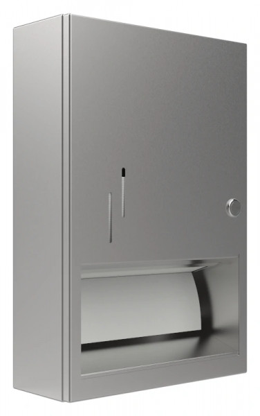 Papierhandtuchspender 9120202 für 500 Papierhandtücher AP/UP