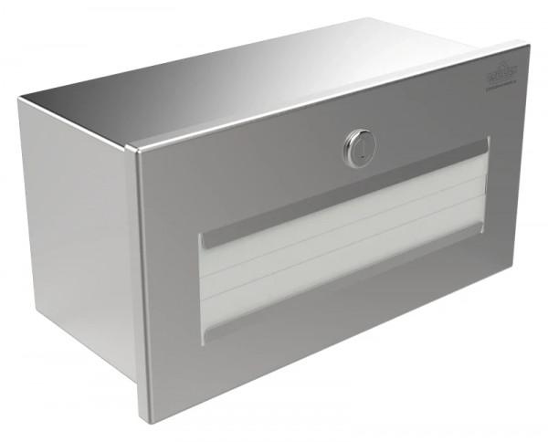 Papierhandtuchspender 9120106 mit Zylinderschloss