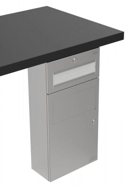 Papierhandtuchspender/Abfallbehälter-Kombination 9123104