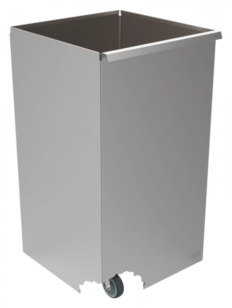 Abfallbehälter fahrbar, oben offen