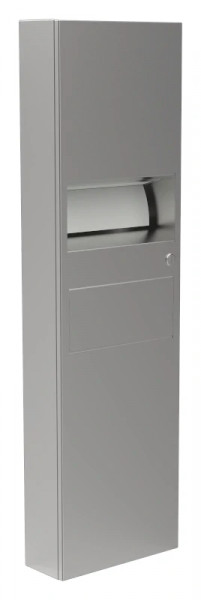 Papierhandtuchspender/Abfallbehälter-Kombination 9124106
