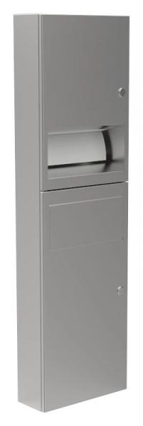 Papierhandtuchspender/Abfallbehälter-Kombination 9124102