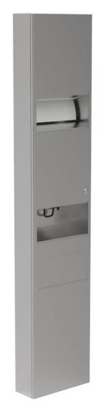 Papierhandtuchspender-Seifenspender-Abfallbehälter-Kombination